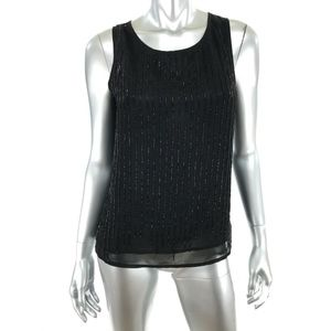 Black Label by Chicos Size 00 US XS Top Shell